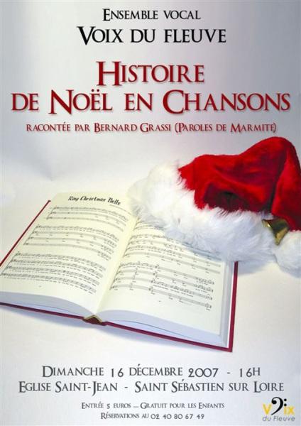 Histoire de Noël en chansons [12-2007]