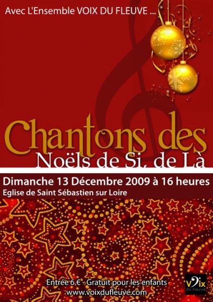 Chantons Noël de Si, de Là [12-2009]