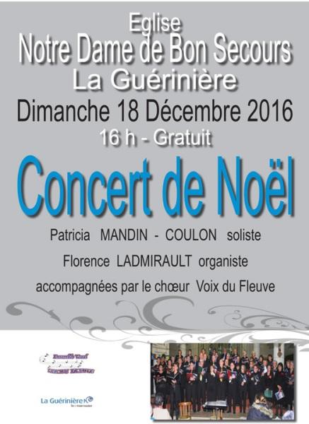 Concert de Noël à la Guérinière [12-2016]