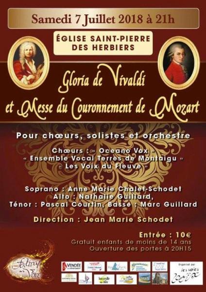 """""""Gloria de Vivaldi"""" et """"Messe du Couronnement"""" de Mozart [07-2018]"""