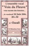 L'Ensemble vocal Voix du Fleuve vous raconte des histoires [06-2006]
